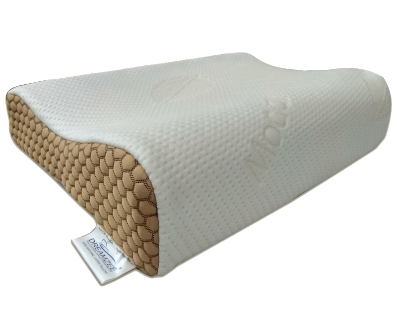 Dreamzee Natural Latex Contour Pillow Large Size ( Organic Modal Fabric )