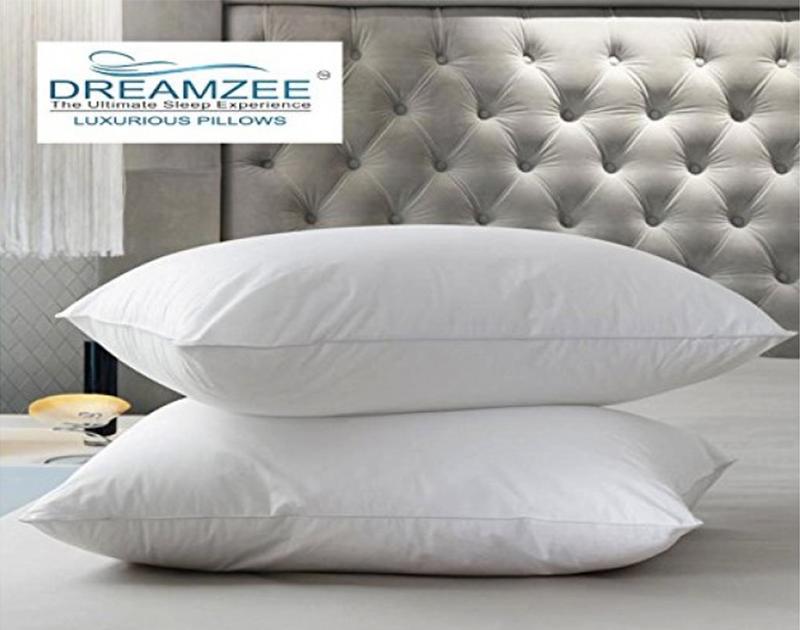 """Luxurious Fiber Standard Pillow ( Size - 26"""" x 16"""" Inches )"""