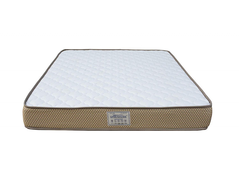 Dreamzee 100% Natural Latex Plus Memory Foam Hybrid Mattress - Medium Soft Comfort