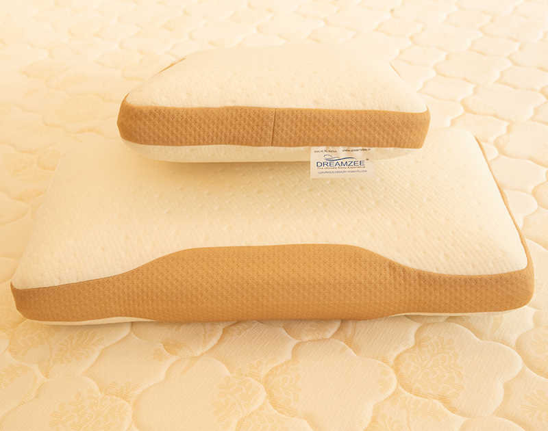 """Memory Foam Standard Pillow with Organic Modal Fabric ( Size - 24"""" x 16"""" inches )"""