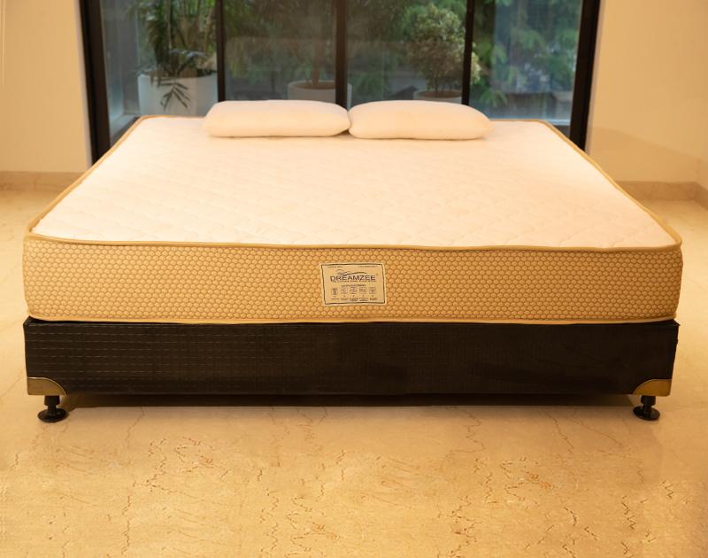 Dreamzee Elevate - 100% Natural Latex + Memory Foam Hybrid Mattress - Medium Comfort