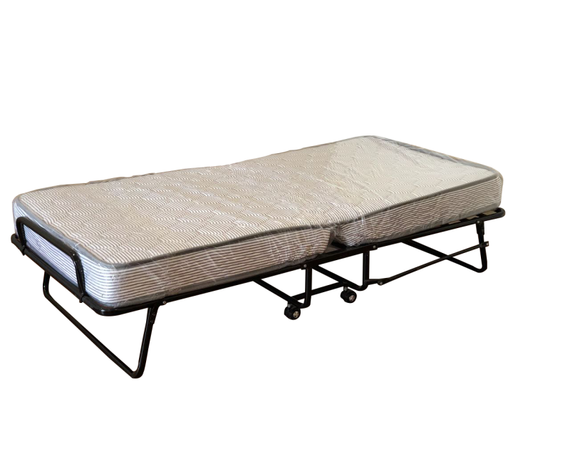 "Dreamzee Folding Bed With 6"" Spring Mattress"