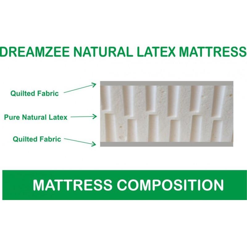 Dreamzee 100% Natural Latex Mattress